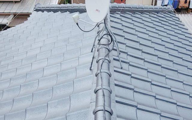 瓦屋根の修理