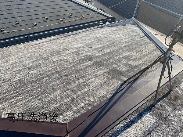 神奈川県相模原市 屋根塗装 下地処理 高圧洗浄 なぜ下地処理が必要なのか